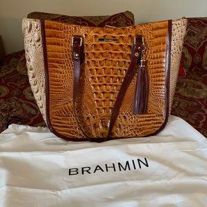 Brahmin Snakeskin Purse